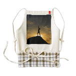 Sunrise Yoga Zazzle HEART Apron