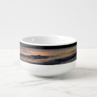 Sunrise Soup Bowl With Handle