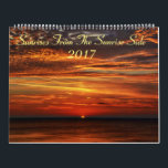 "Sunrises From The Sunrise Side 2017 Calendar<br><div class=""desc"">Beautiful Michigan calendar showcasing sunrises from Greenbush and Harrisville,   the east coast of northern Michigan.</div>"