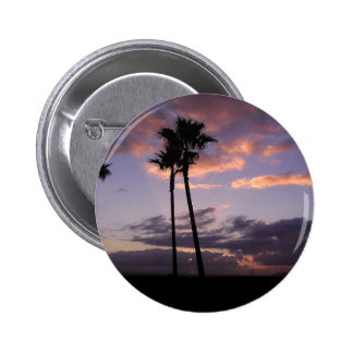 Sunrises Palm Trees Buttons