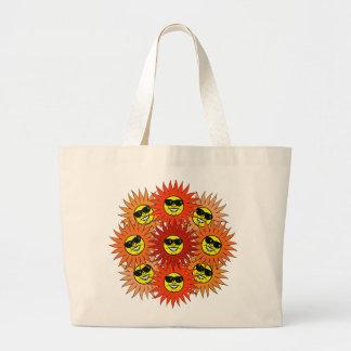 SUNS FLOWER CANVAS BAGS