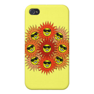 SUNS FLOWER CASE FOR iPhone 4