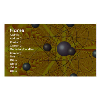Sun's furnace Orbit Double-Sided Standard Business Cards (Pack Of 100)