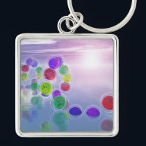 Suns in Their Courses Keychain