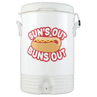 Suns Out Buns Out Beverage Cooler