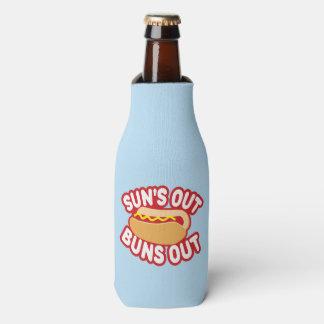 Suns Out Buns Out Bottle Cooler