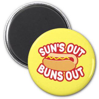 Suns Out Buns Out Magnet