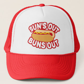 Suns Out Buns Out Trucker Hat