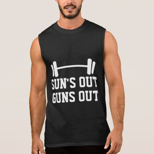 buy popular ca443 c0b84 Sun s out gun out sleeveless tank top for