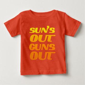 SUN'S OUT GUNS OUT BABY T-Shirt