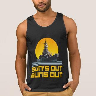 Suns Out Guns Out - Battleship Tanktop