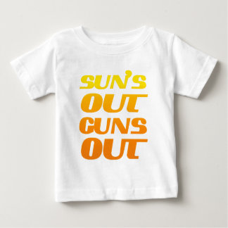 Suns Out Guns Out Fun fitness and gym Tees