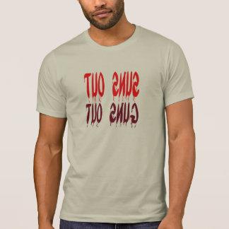 suns out guns out  funny bizzare t-shirt design