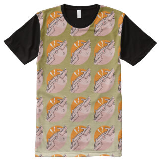 Suns out Guns Out Funny Pimple All-Over Print Shirt
