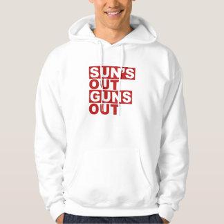 Sun's Out Guns Out Hooded Sweatshirt