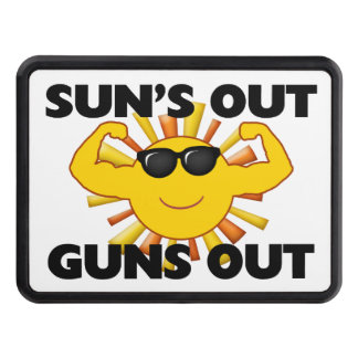 Sun's Out Guns Out Hitch Cover