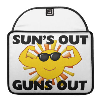 Sun's Out Guns Out Sleeve For MacBook Pro
