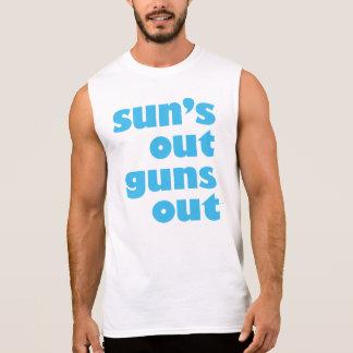 Sun's Out Guns Out sleeveless men's shirt