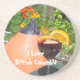 Sun's Over the Yardarm Drink Coaster
