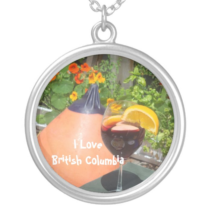 Sun's Over the Yardarm Silver Plated Necklace