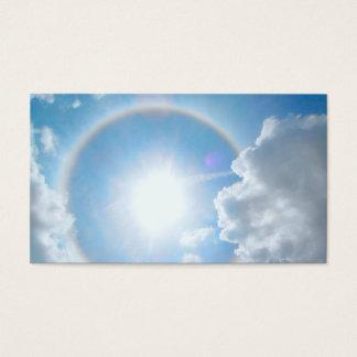 Sun's Rainbow Halo