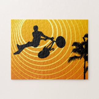 sunscene cycling jigsaw puzzle