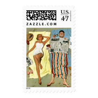 Sunscreen? Postage Stamp