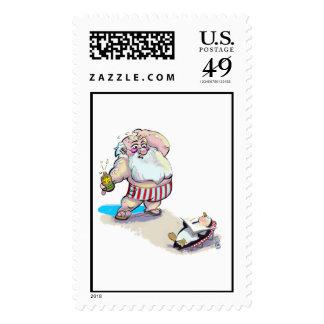 sUnScReEn sAnTa Stamps
