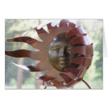 sunsculpture tarjeta de felicitación