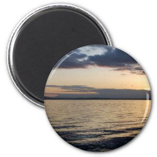 Sunset041609 2 Inch Round Magnet