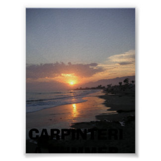 Sunset401, CARPINTERIA SUMMER 2006 Poster
