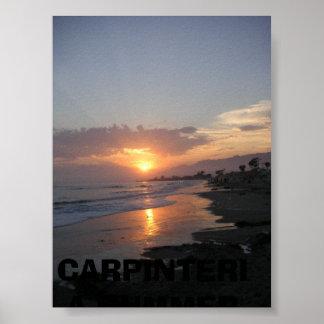 Sunset401, VERANO 2006 de CARPINTERIA Póster