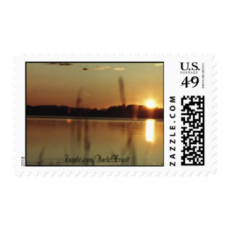 Sunset #01, Zazzle.com/Jack9Frost Postage Stamp