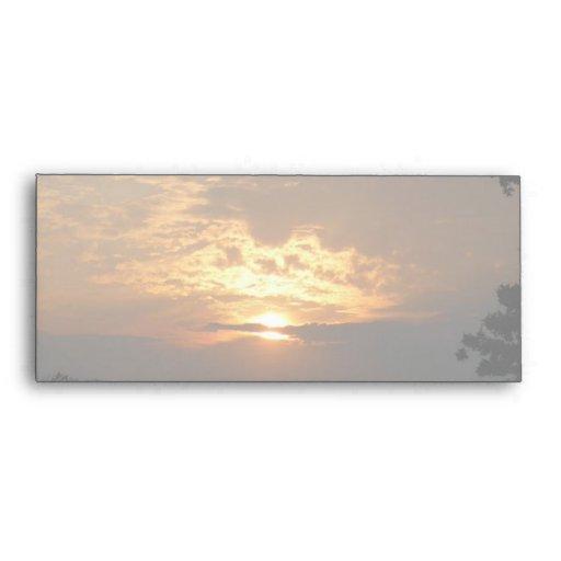 Sunset #10 Envelope
