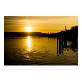 sunset-141 postcard
