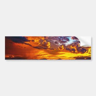 sunset-164288 sunset sundown da nang bay danang ci bumper sticker