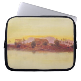 Sunset, 1861 (panel) laptop sleeve