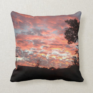 Sunset 1 - double sided throw pillow