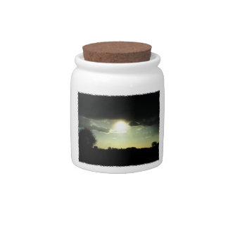Sunset 2 candy jars
