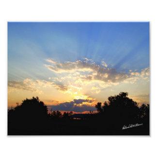 Sunset #3279abcCom Photo Print