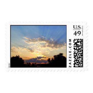 Sunset #3279abcCom Stamp