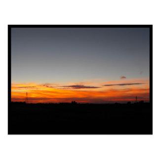 Sunset ~ 33 postcard
