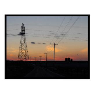 Sunset ~ 34 postcard