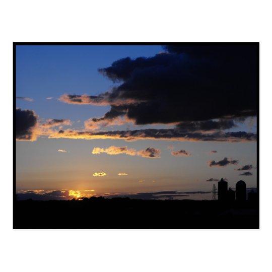 Sunset ~ 36 postcard