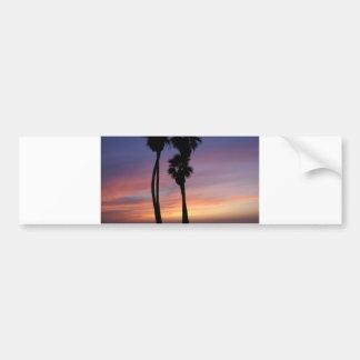 sunset 3 bumper sticker
