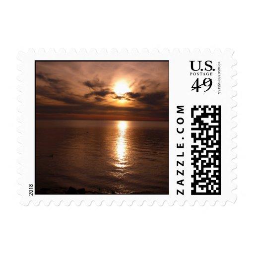 Sunset 3 postage