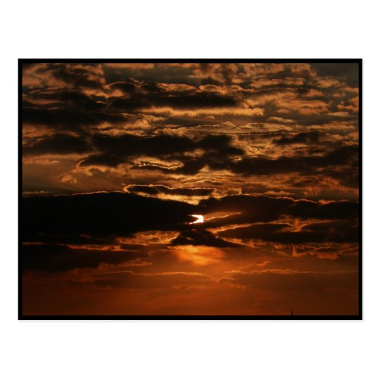 Sunset ~ 48 postcard