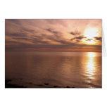 Sunset 4 card