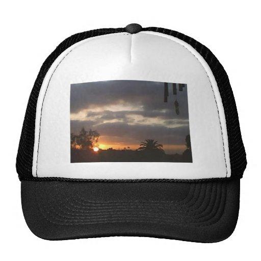sunset 4 mesh hat