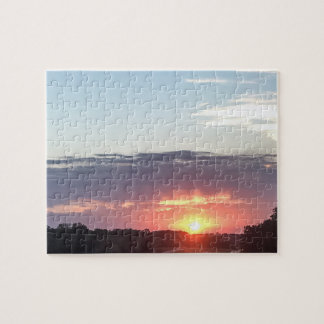 Sunset 8x10 Photo Puzzle with Gift BoX